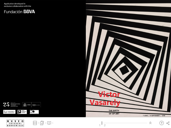 "Interactive publication ""Victor Vasarely. The birth of Op Art"". Museo Nacional Thyssen-Bornemisza"