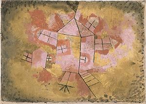 Paul Klee. Casa giratoria, 1921