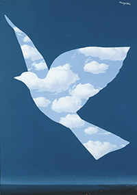 Magritte, El pájaro de cielo