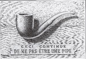Magritte, La traición de las imágenes