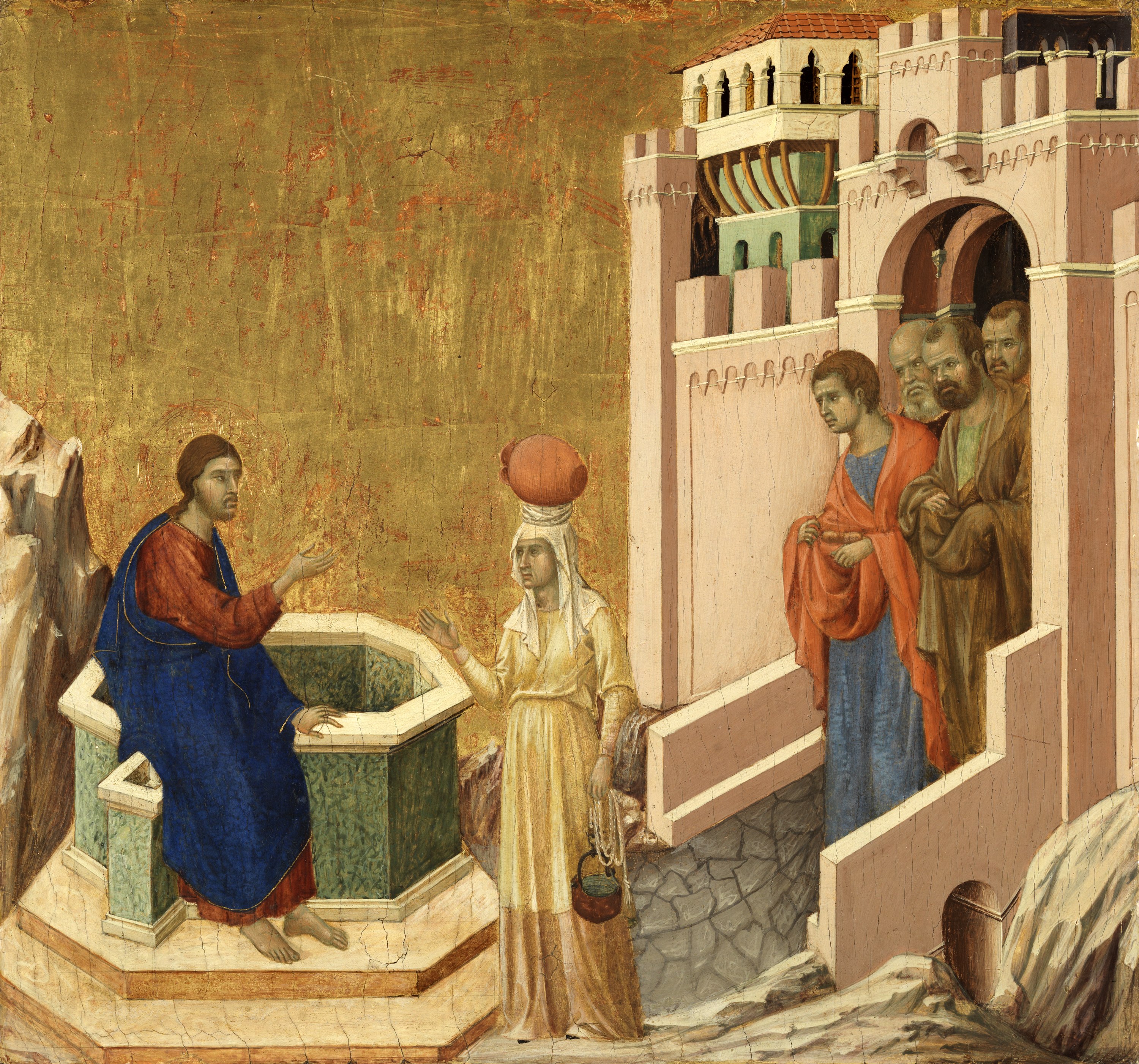 The story of the samaritan woman at the well