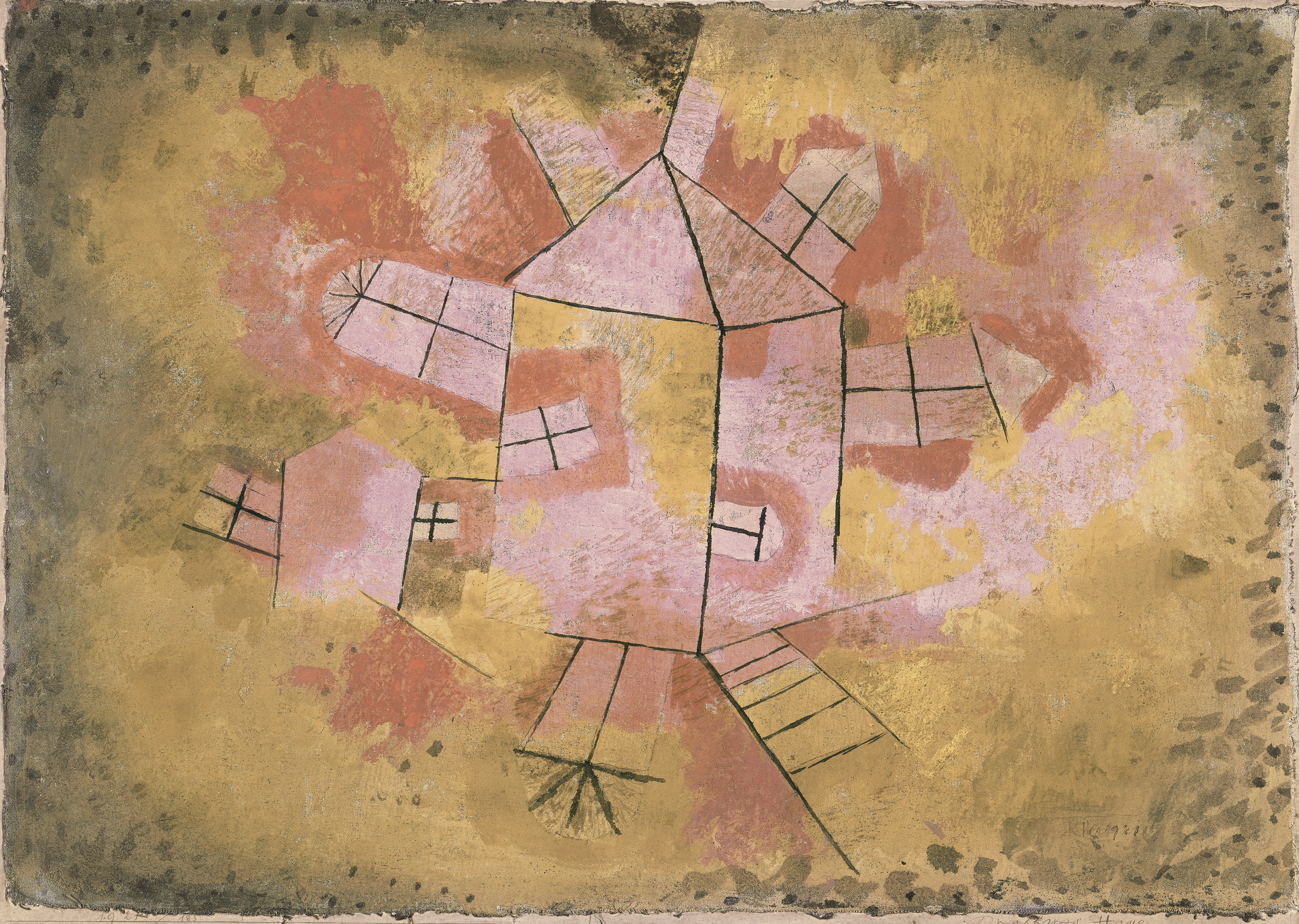 Revolving House, 1921, 183 - Klee, Paul. Museo Nacional Thyssen ...