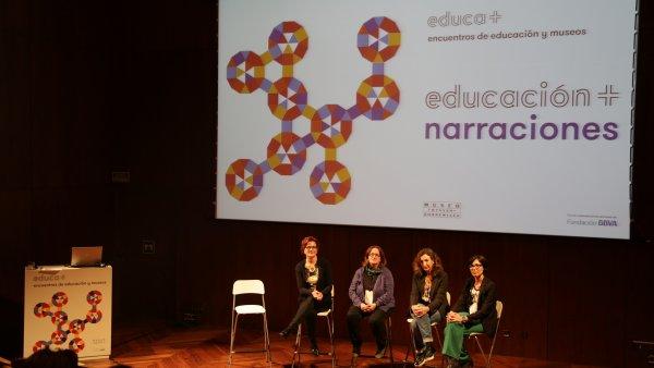 Educación + narraciones