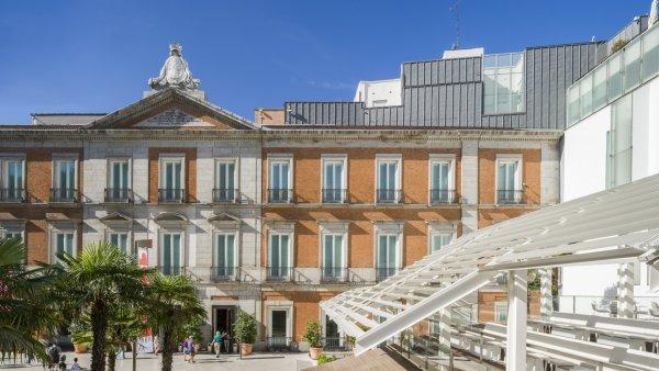 Fachada del Palacio de Villahermosa (2)