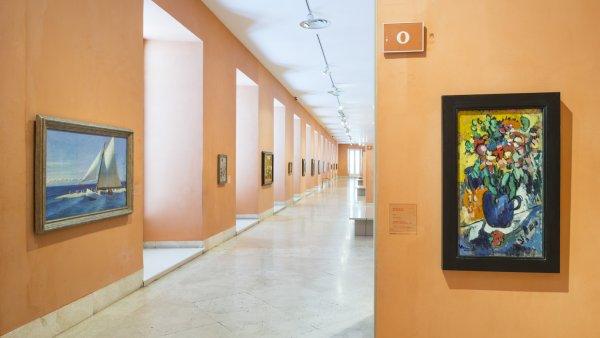 Salas de la colección Carmen Thyssen