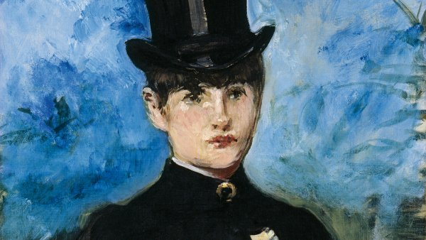 Édouard Manet. Amazona de frente, c. 1882