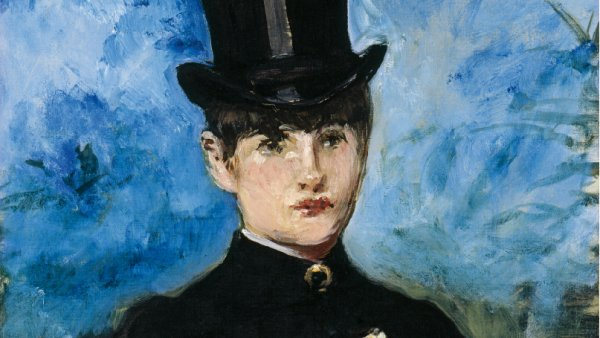 Édouard Manet, Horsewoman, c. 1882