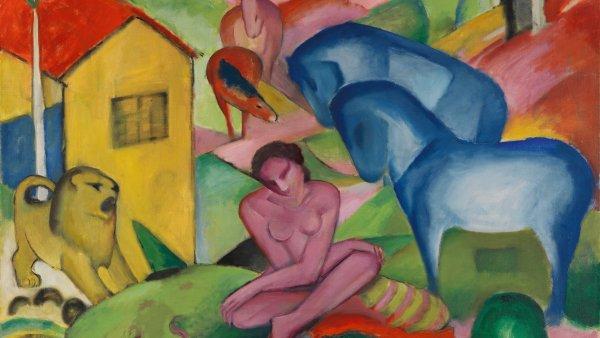 Franz Marc. El sueño, 1912