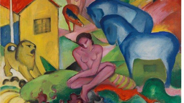 Franz Marc, The dream, 1912