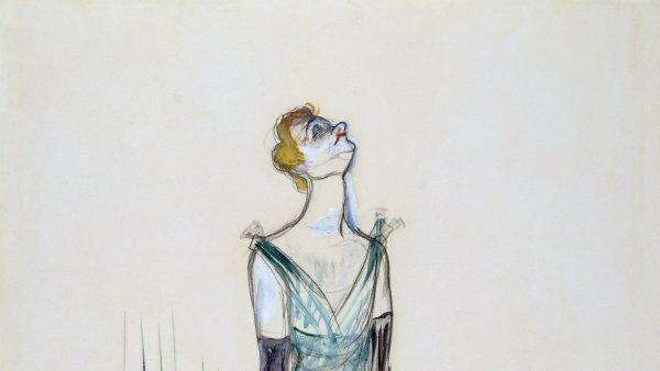 Henri de Toulouse-Lautrec. Yvette Guilbert, 1893