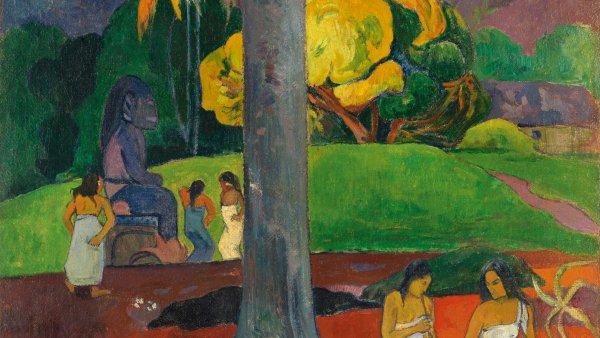 Paul Gauguin. Mata Mua (Érase una vez), 1892