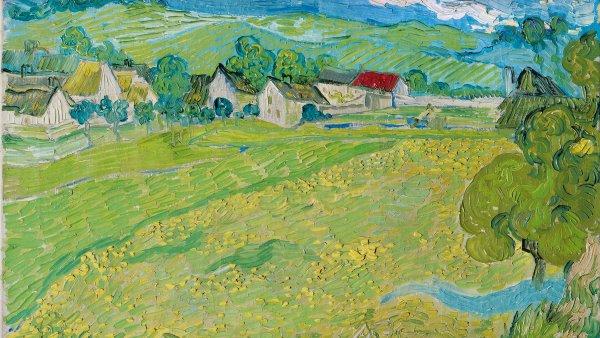 Vincent van Gogh. Les Vessenots en Auvers, 1890