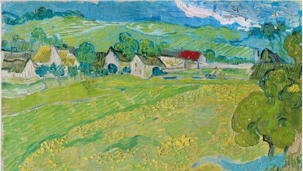 Vincent van Gogh, Les Vessenots in Auvers, 1890