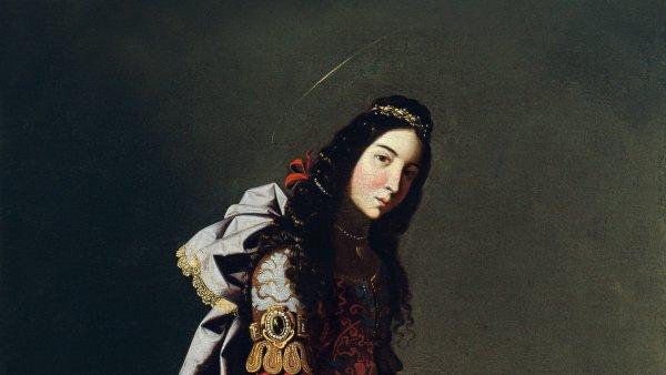 Zurbarán. Santa Casilda, c.1630-1635