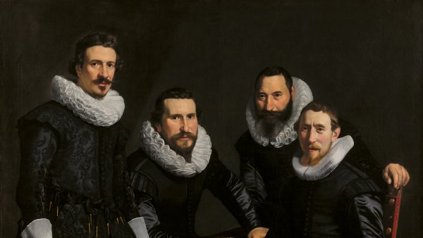 Headmen of the Amsterdam Gold- and Silversmiths' Guild, Thomas de Keyser