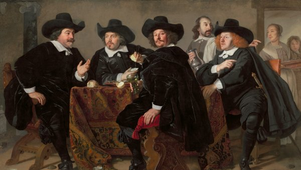 The Headmen of the Arquebusiers' Civic Guard House, Bartholomeus van der Helst