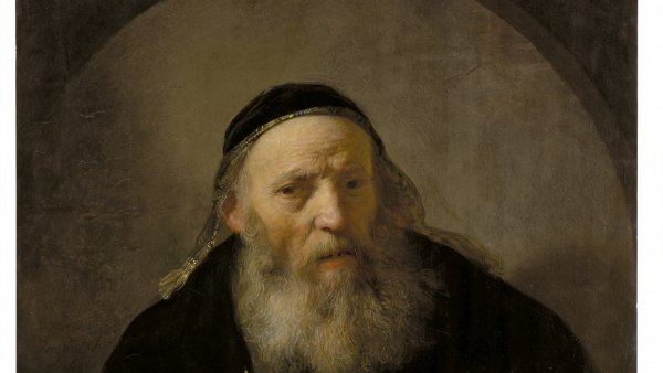 Bust of an Old Man in Fanciful Costume, Rembrandt