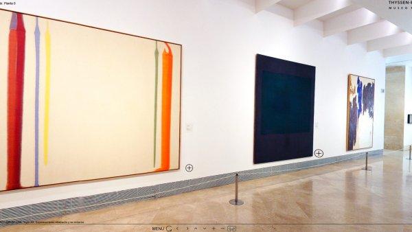 Virtual tour. Museo Thyssen-Bornemisza'spermanent collection