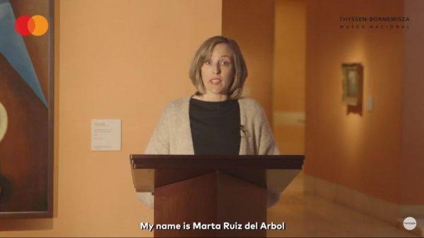 Georgia O'Keeffe. Fragmento de la charla de Marta Ruiz del Árbol