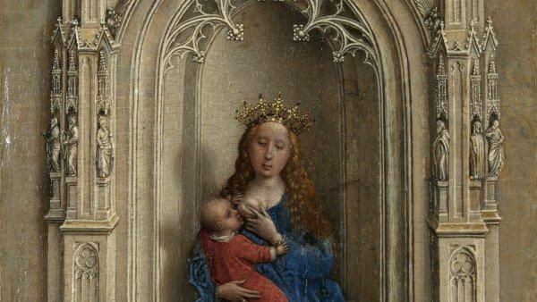 Hoy te mostramos a van der Weyden hasta el último detalle