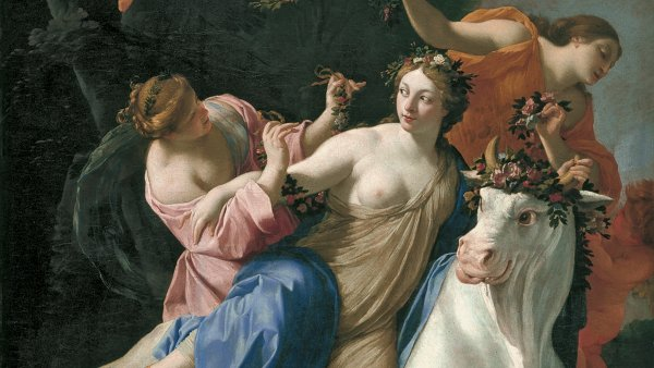 The Rape of Europa. El rapto de Europa, c. 1640