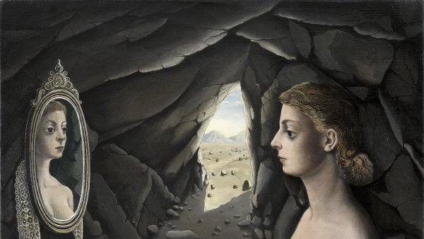 Paul Delvaux: A Walk with Love and Death