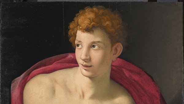 Portrait of a young Man as Saint Sebastian, c. 1533