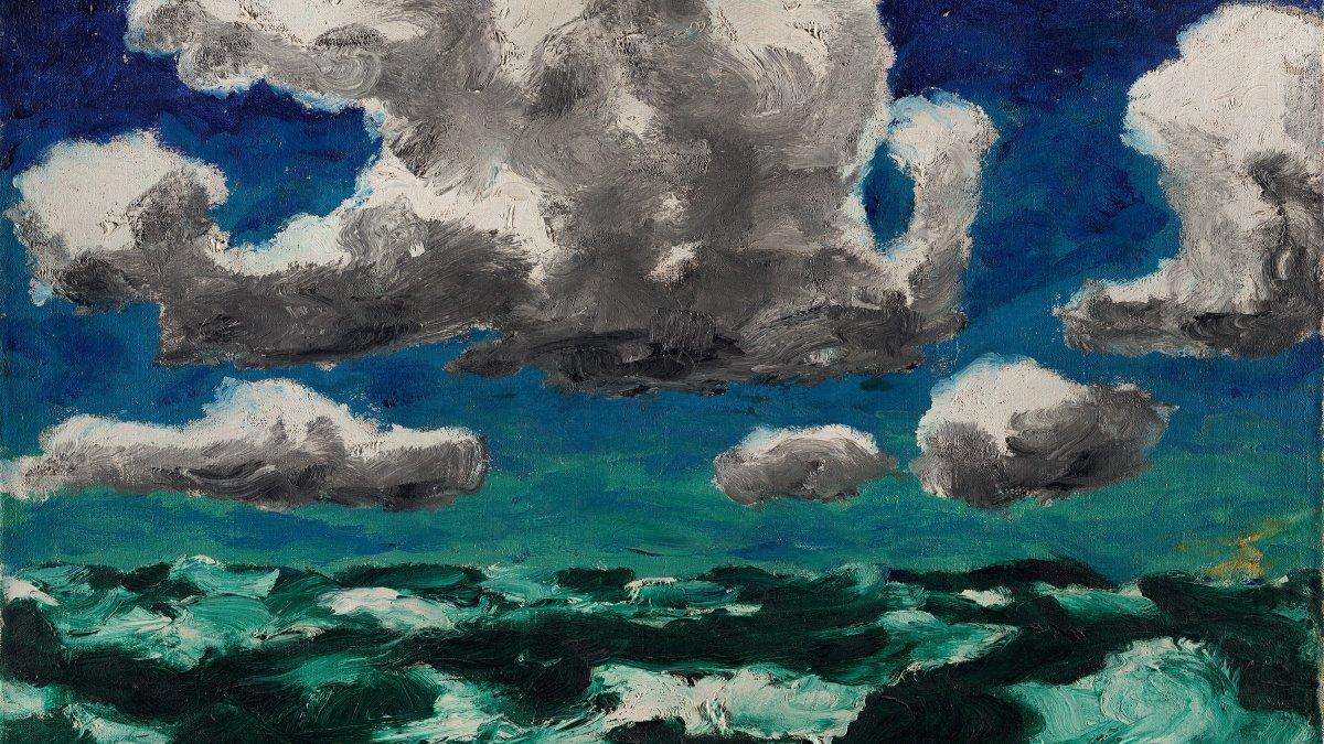 Nubes de verano - Nolde, Emil. Museo Nacional Thyssen-Bornemisza