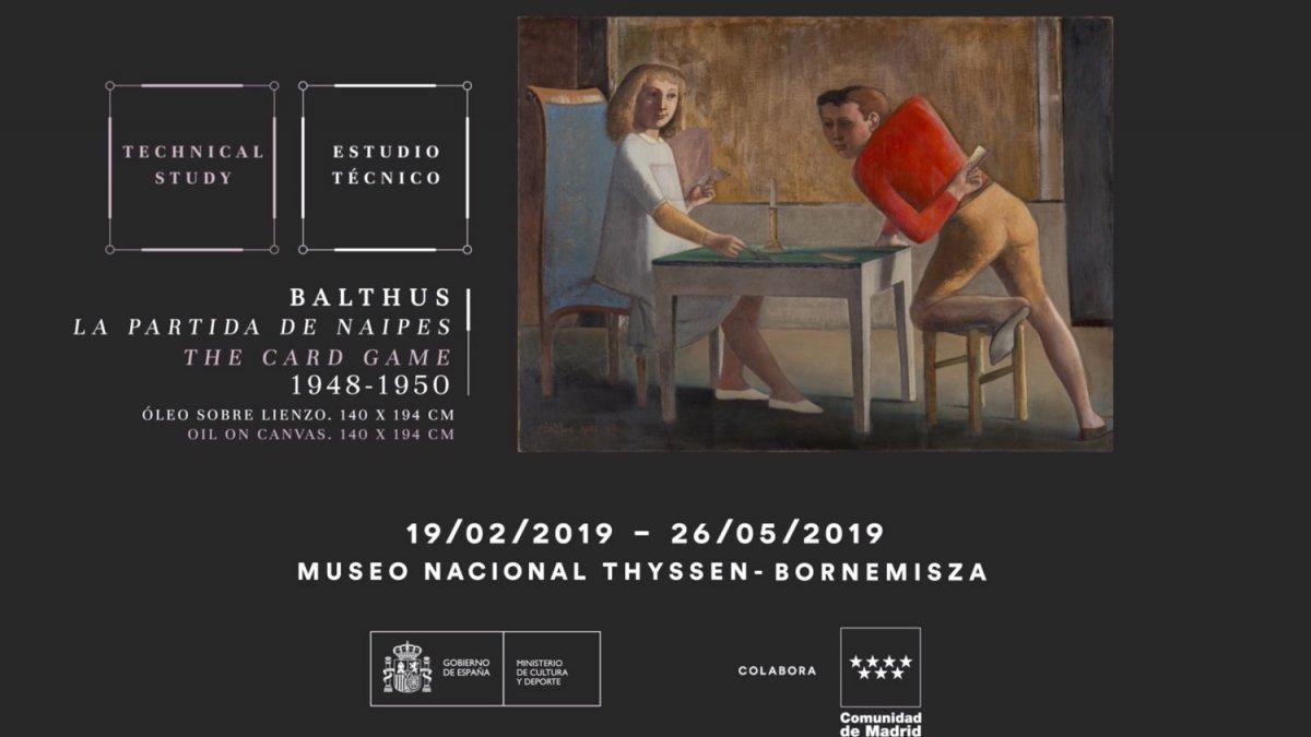 La partida de naipes Balthus . Museo Nacional Thyssen