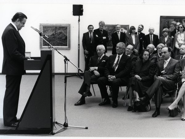 Hans Heinrich Thyssen-Bornemisza, art collector