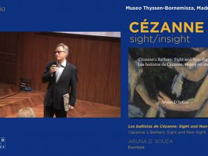 "Vídeo de la conferencia ""Los bañistas de Cézanne: Sight and Non-Sight"""