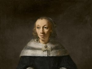 Portrait of a Woman, probably Maria van Sinnick, Rembrandt