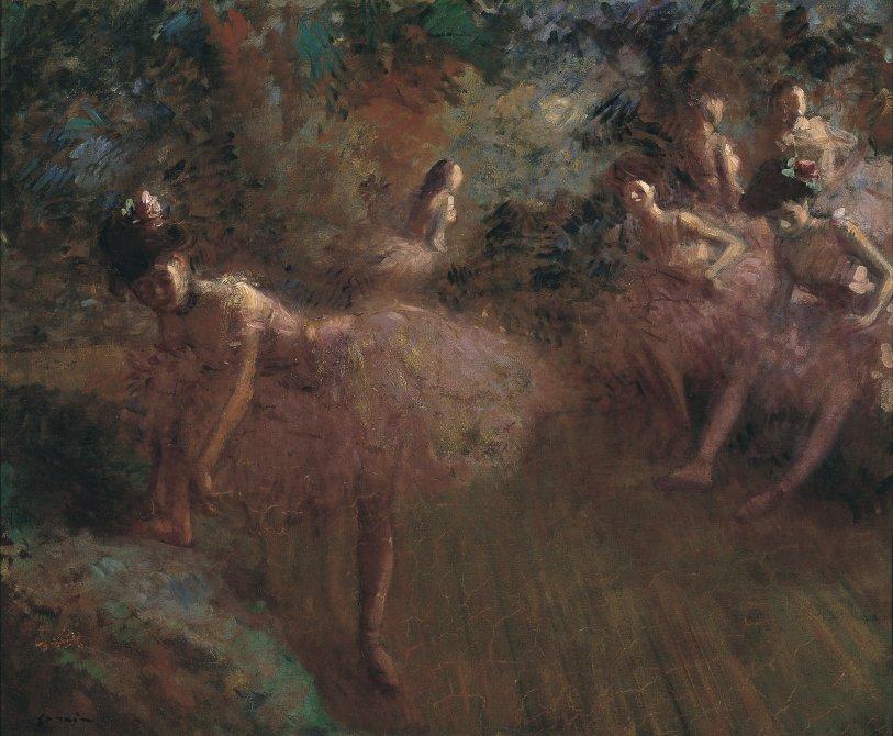 Bailarinas en rosa