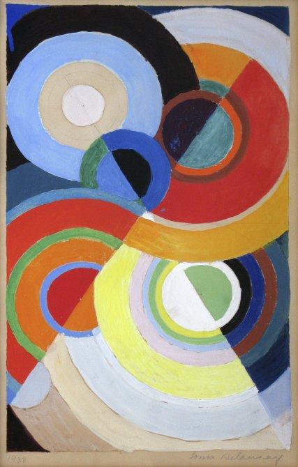 Exposición - Sonia Delaunay. Arte, diseño y moda. Museo Nacional ...