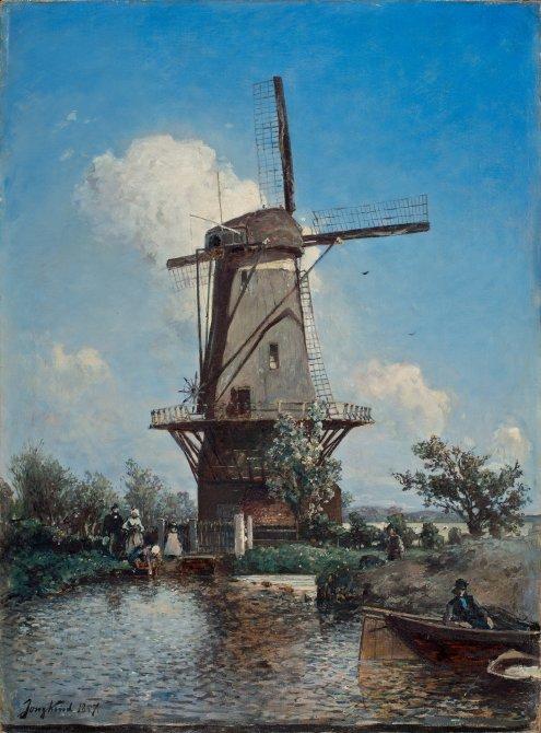 A Windmill near Delft