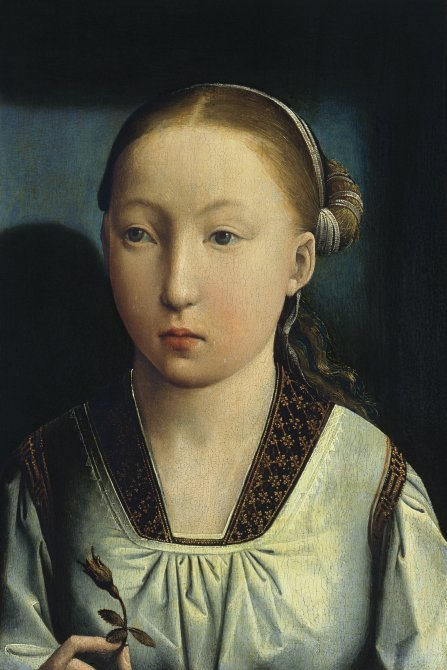 Portrait of an Infanta. Catherine of Aragon (?)
