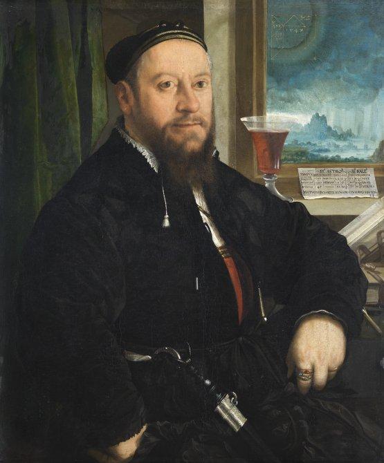 Portrait of Matthäus Schwarz
