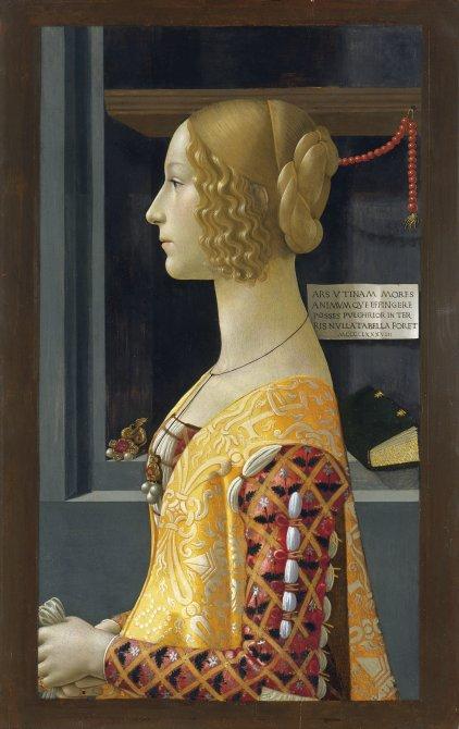 Retrato de Giovanna degli Albizzi Tornabuoni
