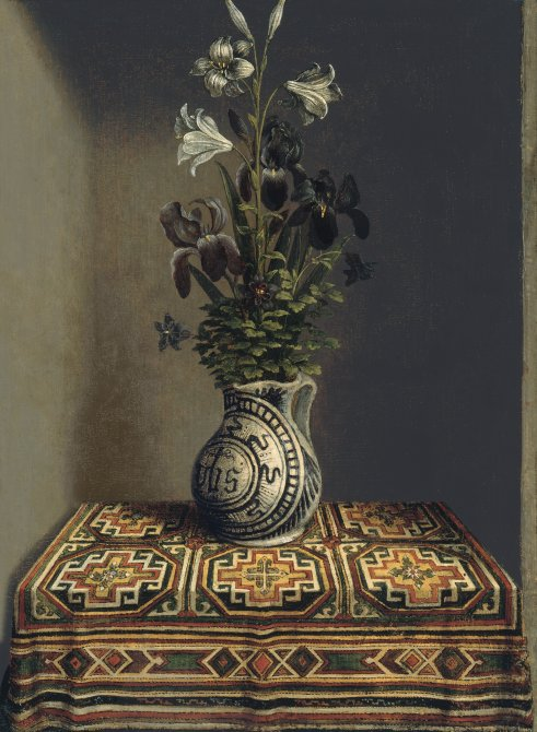 Flowers in an Jug (verso)
