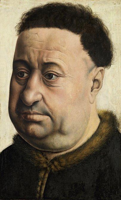 Portrait of a Stout Man. Robert de Masmines (?)