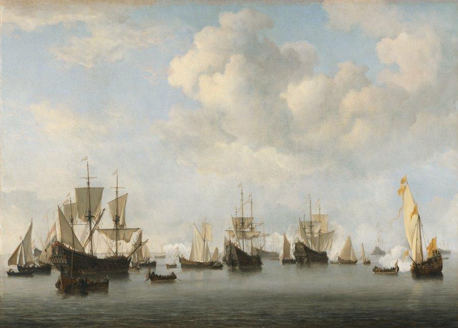 The Dutch Fleet in the Goeree Roads