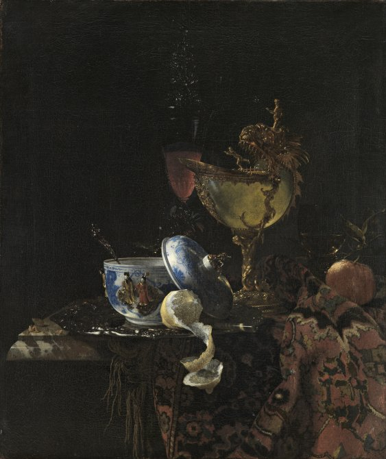 Still Life with a Chinese Bowl, Nautilus Cup and Other Objects