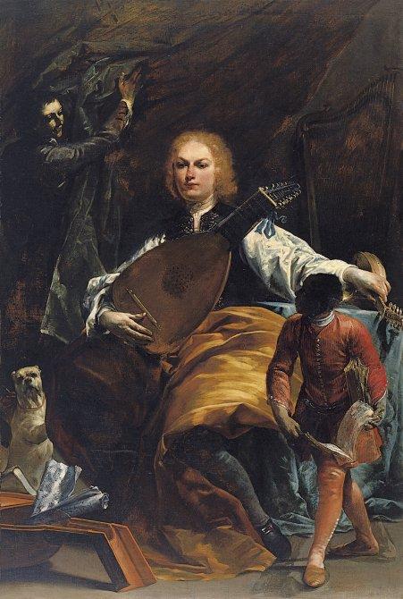 Portrait of Count Fulvio Grati