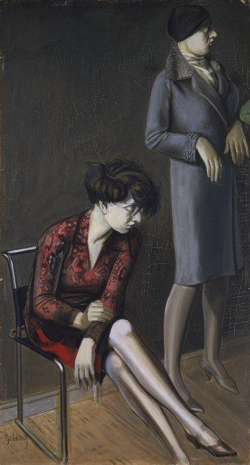 Doble retrato de Hilde II