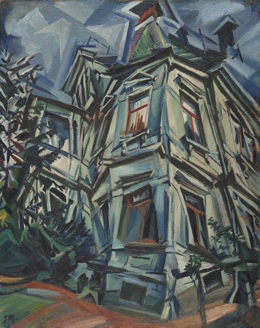 La casa de la esquina (Villa Kochmann en Dresde)