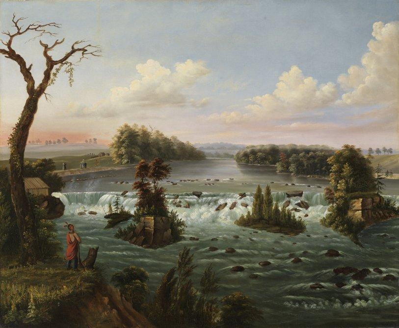 Las cataratas de San Antonio, Alto Mississippi