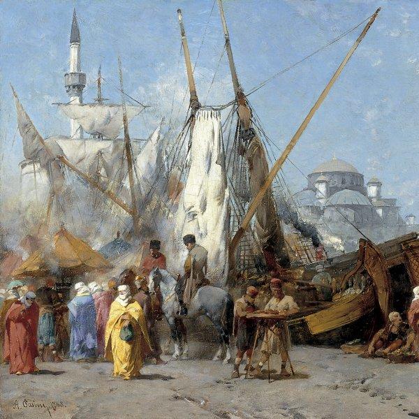 Market in Constantinople