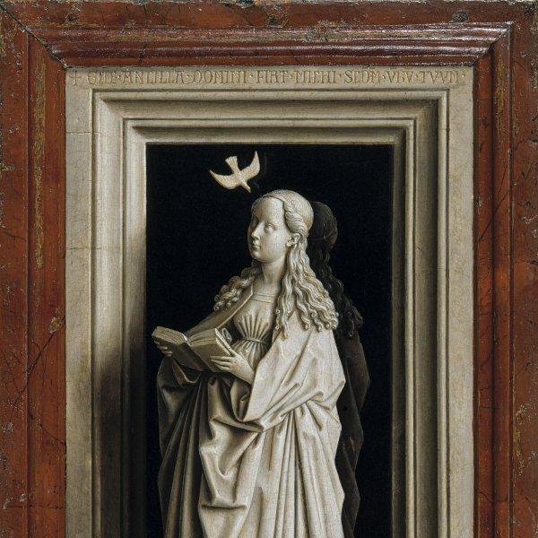 Préstamo del Díptico de la Anunciación de Jan van Eyck