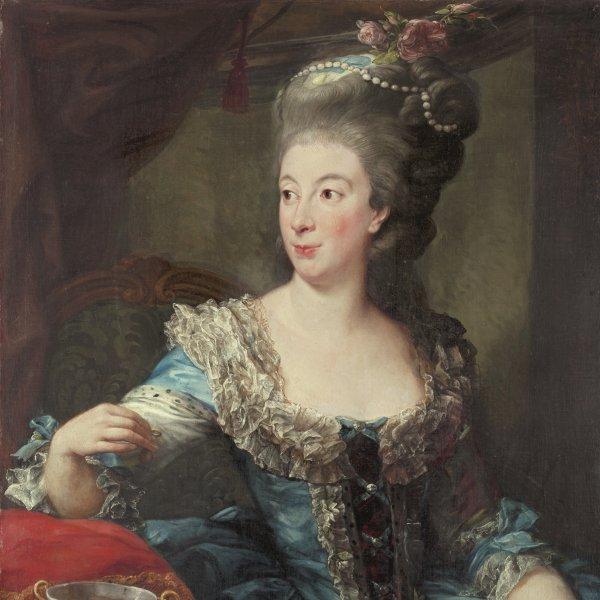 Retrato de la condesa María Benedetta di San Martino