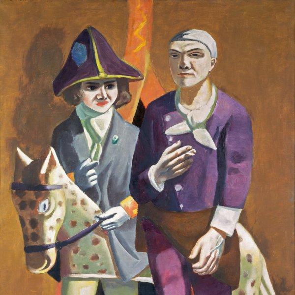 Beckmann. Exile figures